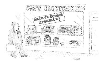 Ghetto Drawing - 'back To School Specials!' by Robert Mankoff