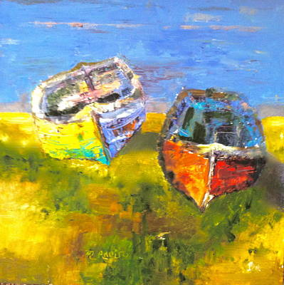 Painting - Back To Shore by MaryAnne Ardito