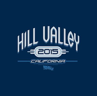 Fox Digital Art - Back To The Future II - Hill Valley 2015 by Brand A