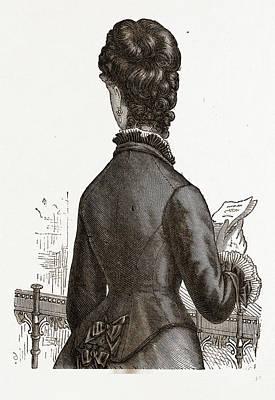 Back View, 19th Century  Fashion Art Print
