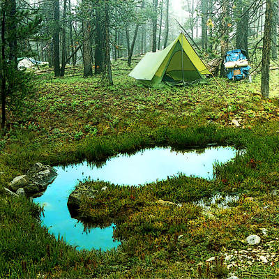 Photograph - Backcountry Camp by Ric Soulen