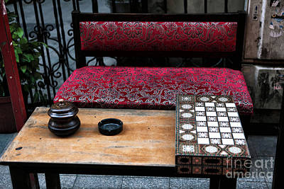 Backgammon Photograph - Backgammon by John Rizzuto