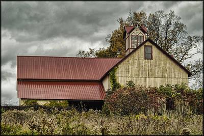 Photograph - Backroad Barn by Erika Fawcett
