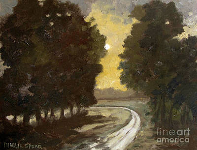 Moonshine Painting - Backroad Moonshine by Charlie Spear