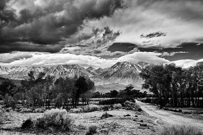 Hill Photograph - Backroads Of Bishop by Cat Connor