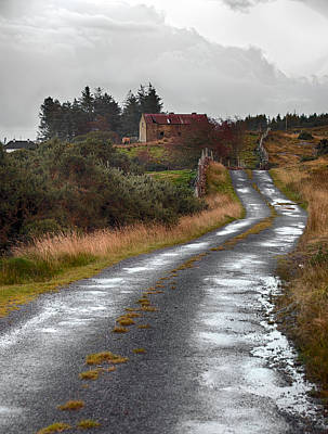 Photograph - Backroads Of Ireland by Trever Miller