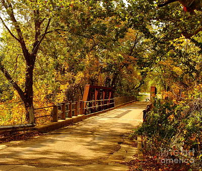 Photograph - Backroads River Bridge by Robert Frederick