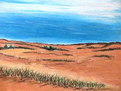 Backside Beach Art Print