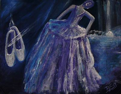 Painting - Backstage by Barbara St Jean