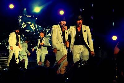 Backstreet Boys Photograph - Backstreet Boys Live by Devina Browning