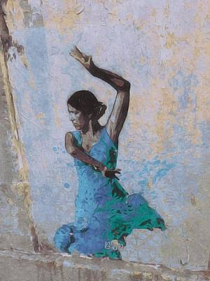 Photograph - Backstreet Dancer In Horta by Susan Alvaro