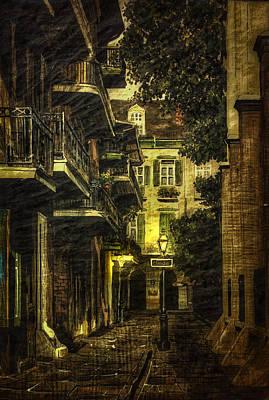 Ally Photograph - Backstreet by Gary Smith