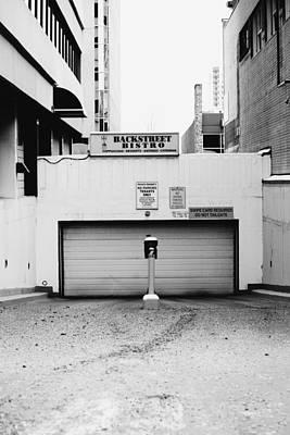 Grate Photograph - Backstreet by Jerry Cordeiro