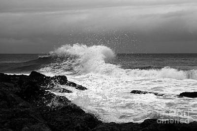 Backwash 3 Art Print by Noel Elliot