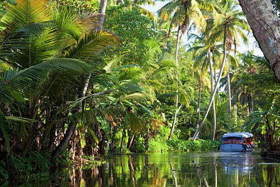 Backwaters, Alappuzha Or Alleppey Art Print by Peter Adams