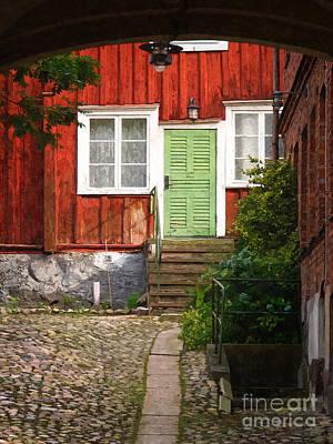 Photograph - Backyard by Lutz Baar