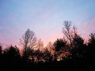 Photograph - Backyard Sunset by MTBobbins Photography
