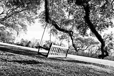 South Louisiana Photograph - Backyard Swing by Scott Pellegrin