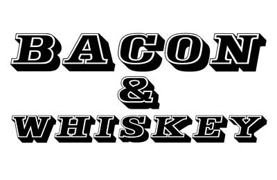Painting - Bacon And Whiskey by Florian Rodarte