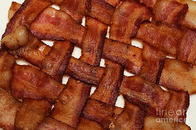 Photograph - Bacon Weave by Andee Design