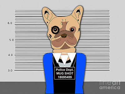 Bad Bad Dog Art Print