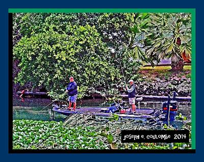 Photograph - Bad Boys N Bass Fishn by Joseph Coulombe