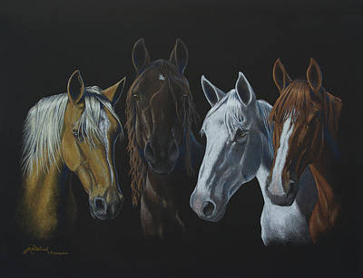 Bad Boys Of Horsefeathers Farm Art Print