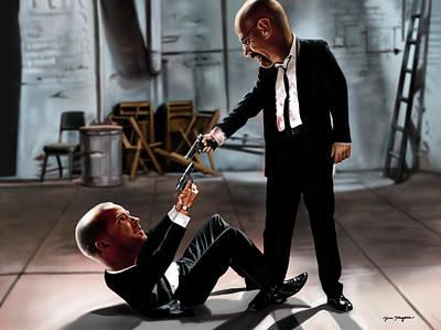 Reservoir Dogs Digital Art - Bad Dogs by Tim Myers