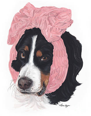 Good Dog Painting - Bad Hair Day by Liane Weyers