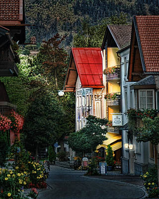Photograph - Bad Hindelang Austria At Dusk by Ginger Wakem