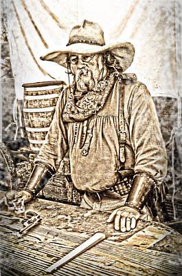 Bad Times Pilgrim Gotta Be Ready Art Print by Randall Branham