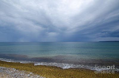 Photograph - Bad Weather Approaching At The Coast by Kennerth and Birgitta Kullman