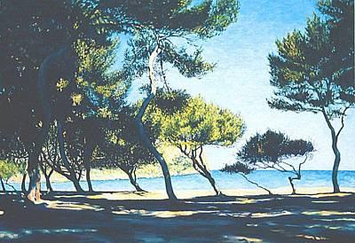 Painting - Badia De Alcudia -- Mallorca by Herschel Pollard
