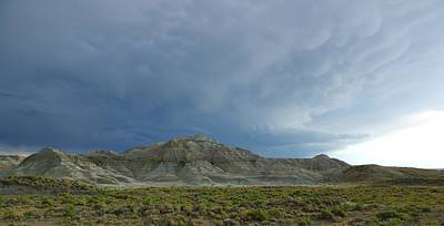 Photograph - Badlands by David Andersen
