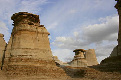 Photograph - Badlands Drumheller by Betty-Anne McDonald