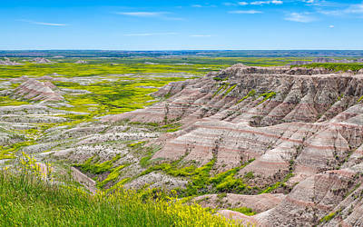 Photograph - Badlands Grandeur by John M Bailey
