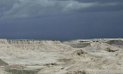 Photograph - The Badlands Mesas 1 by Nadalyn Larsen