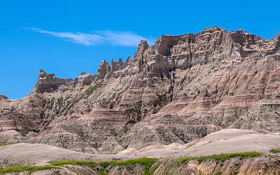Photograph - Badlands National Park by John M Bailey