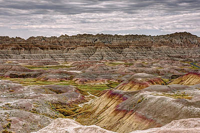 Photograph - Badlands - North Dakota 1 by Penny Lisowski