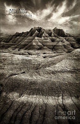 Photograph - Badlands Of South Dakota by Jill Battaglia