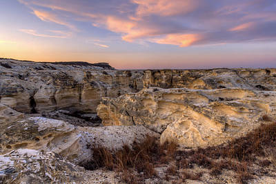 Photograph - Badlands by Scott Bean