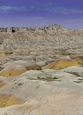 Photograph - Badlands South Dakota by Kathleen Scanlan