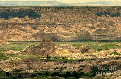 As Far As The Eye Can See Photograph - Badlands Vision by Anthony Wilkening