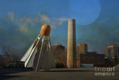 Photograph - Badminton Birdie - Nelson Atkins Museum Of Art - Kansas City Missouri by Liane Wright
