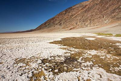 Hot Creek Photograph - Badwater by Ashley Cooper