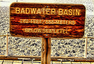 Photograph - Badwater Basin By Diana Sainz by Diana Raquel Sainz