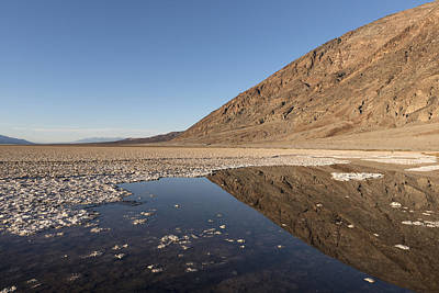 Photograph - Badwater Basin In Death Valley National Park In Inyo County by Carol M Highsmith