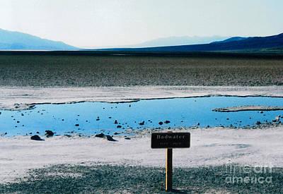 Salt Flats Digital Art - Badwater Basin by Patricia Januszkiewicz
