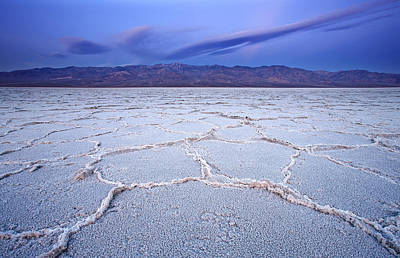 Southwest Landscape Photograph - Badwater Dawn by Darren  White