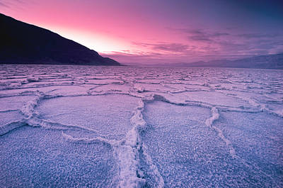Photograph - Badwater, Death Valley by Mark Lee